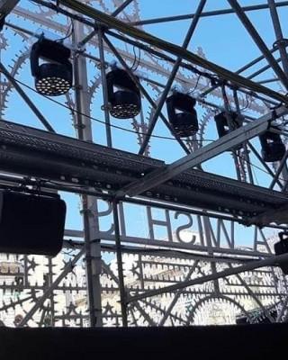 Dior Cruise 2021 Lecce Ponteggio